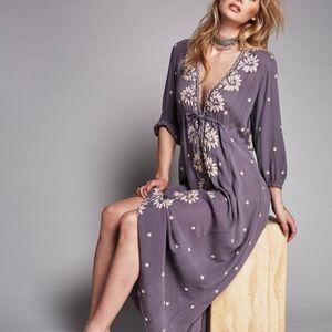 Free People Fable Midi Dress